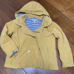 Tucker Tate Mustard Corduroy Jacket - Girl's 5.